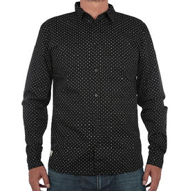 RVLT RVLT, 3389, Shirt Pattern, Black, L