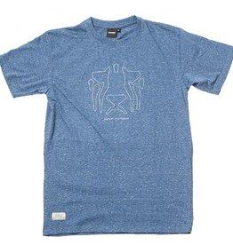 Safari Safari, OG Outlines T-Shirt, sky blue, L