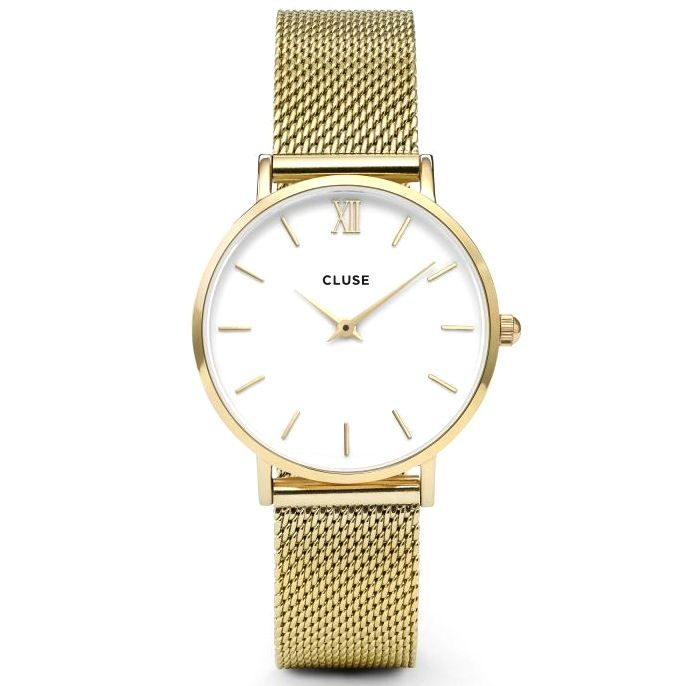 Cluse Cluse, Minuit Mesh, gold/white