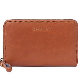 Lost & Found Accessories Lost & Found, Mittleres Reissverschluss Portemonnaie, Caramel