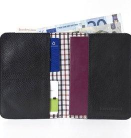 Lost & Found Accessories Lost & found, Passportholder, black