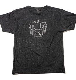 Safari Safari, OG Outlines T-Shirt, black snow, XL