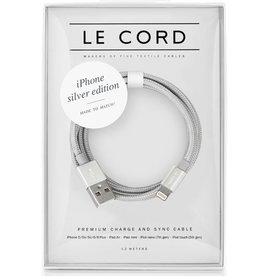 Le Cord LeCord, Solid, iPhone silver Edition