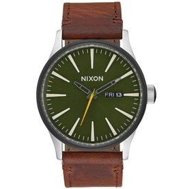 Nixon Nixon, Sentry Leather, surplus/brown