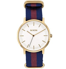 Nixon Nixon, Porter Nylon, gold/white/red