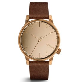 Komono KOMONO, The Winston Mirror, rose gold/cognac