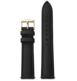 Cluse Cluse, Boho Chic, Strap (18mm), black/gold