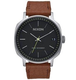 Nixon Nixon, Regent II Leather, black