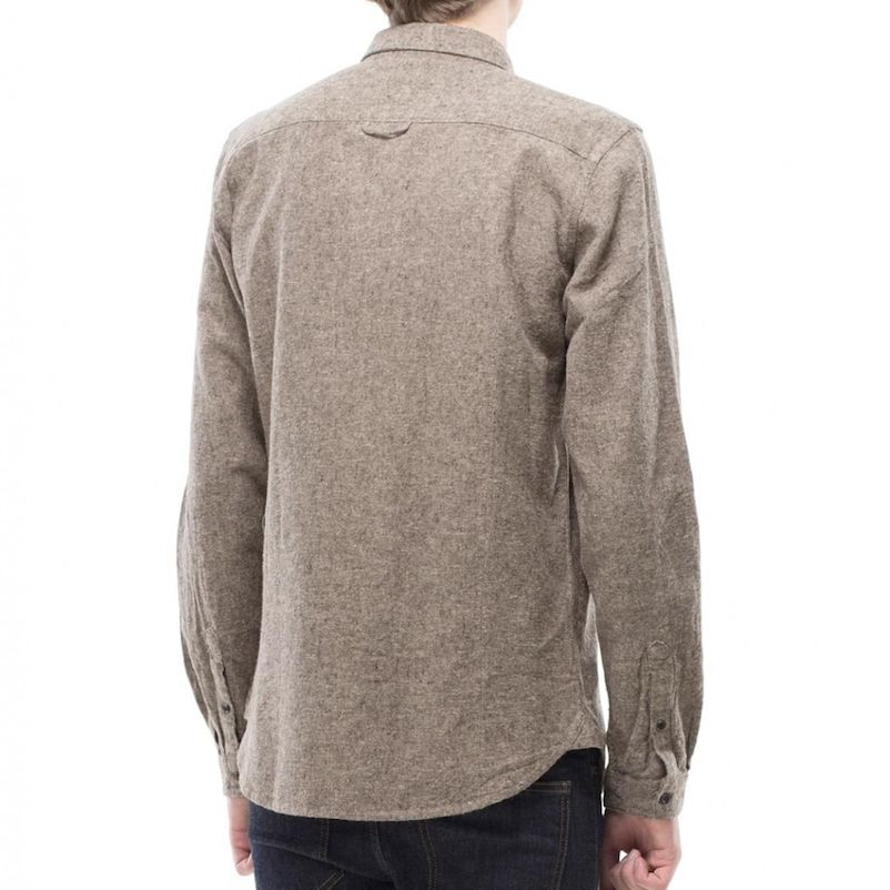 Dr.Denim Dr.Denim, Pete Shirt, toffee, XL