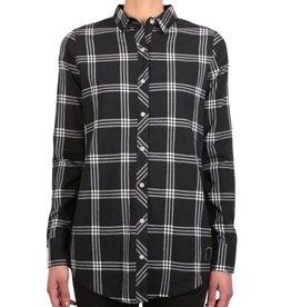 Iriedaily Iriedaily, Macker Plaid Shirt, black, XS