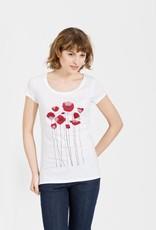 armedangels Armedangels, Uma Minimal Flowers, white, L