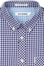 Ben Sherman, Gingham Mod, Blue Depths, XL