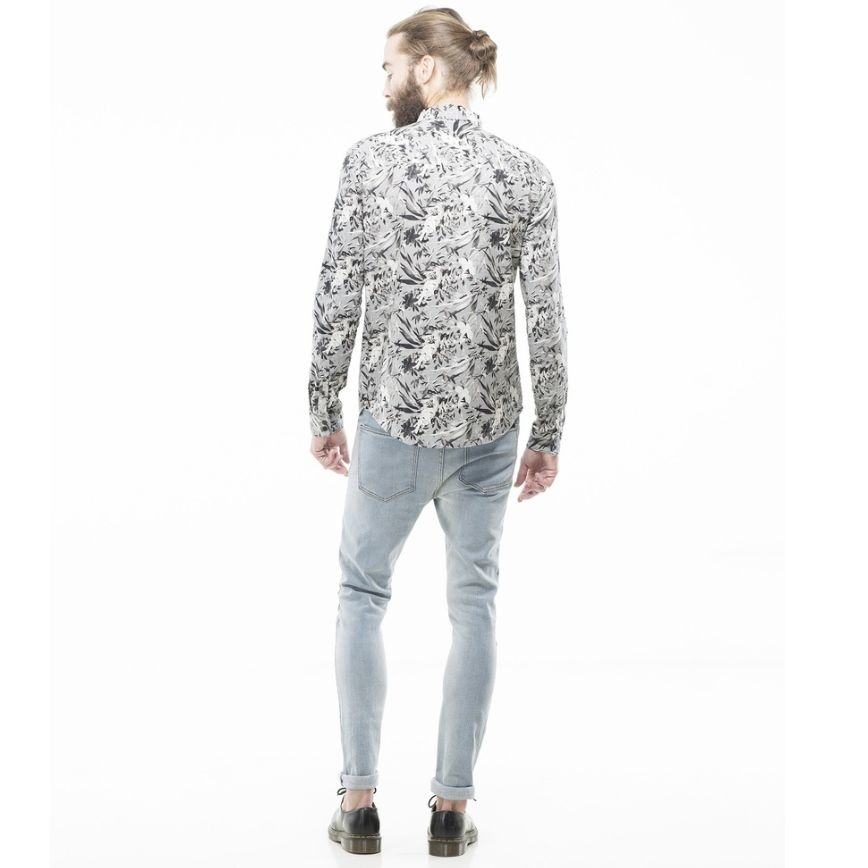 Dr.Denim Dr. Denim, Pine Regular Shirt, light grey, XL