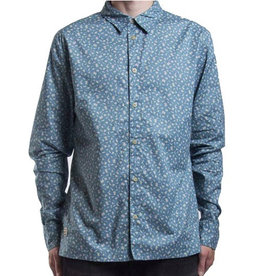 RVLT RVLT, 3351, Shirt Pattern, Blue, L