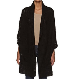 Element Clothing ELEMENT, Estonia, Poncho, Black, One Size