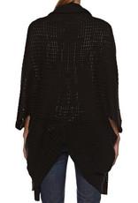 Element Clothing ELEMENT, Estonia, Poncho, Black, One Size