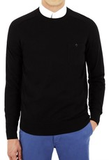 Ben Sherman, The Crew Neck, jet black, XL