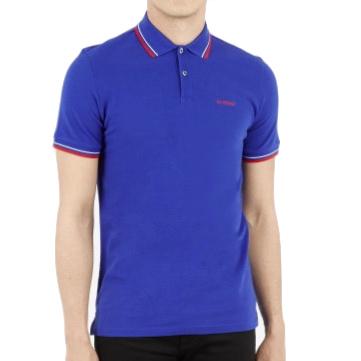 Ben Sherman, Polo Shirt Romford, union blue, L