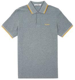 Ben Sherman, Polo Shirt Romford, heritage grey marl, XL