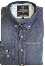 Einstoffen Einstoffen, Harmonica Shirt, blue, XL