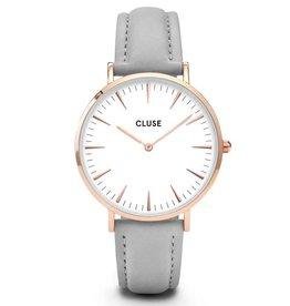 Cluse Cluse, La Bohème, rose gold white/grey