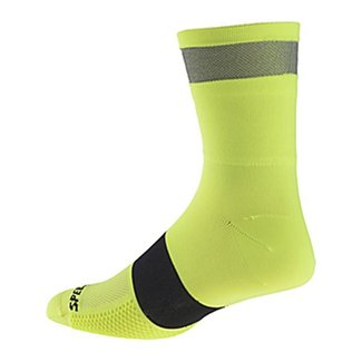 Specialized REFLECT TALL SOCK NEON YEL S/M