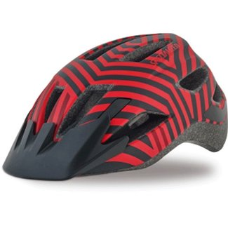 Specialized SHUFFLE LED HLMT CE RED/BLK RAZZLE YTH