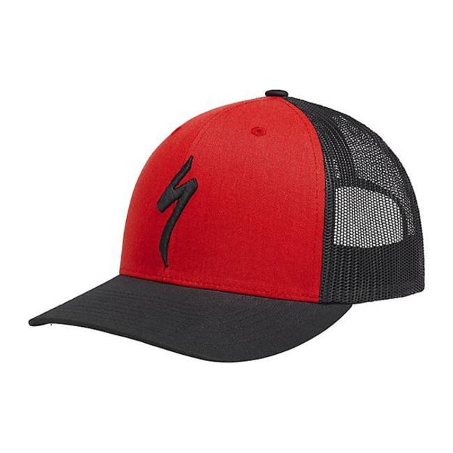 Specialized SPECIALIZED FLEXFIT® TRUCKET HAT ONESIZE Red/Black