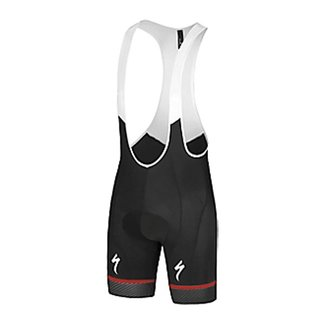 Specialized RBX COMP LOGO BIB SHORT BLK / RED / BLK XXL
