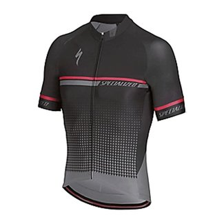 Specialized SPECIALIZED SL EXPERT JERSEY SS BLK/ACDRED XL
