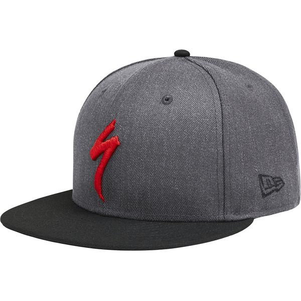 Specialized SPECIALIZED New Era 9Fifty Snapback Hat gray / blk red