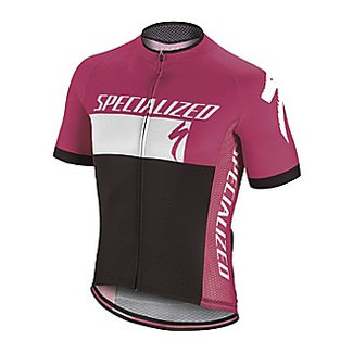 Specialized RBX COMP LOGO JERSEY SS  MAGENT/WHI/BLK  XL