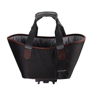 RACKTIME System Shopping Bag Agnethaschwarz, incl. Snapit Adapter black