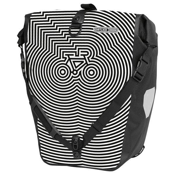 ORTLIEB Backroller Design white Black