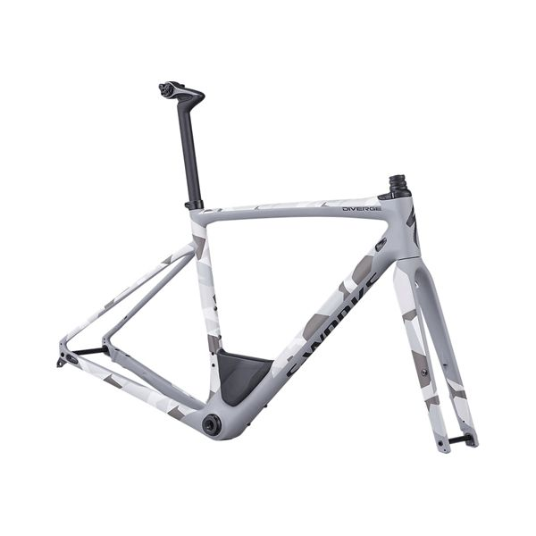 Specialized DIVERGE SW FRMSET CLGRY/CAMO 56