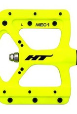 HT Components HT EVO-MAG ME01 platform pedals powder coat yellow