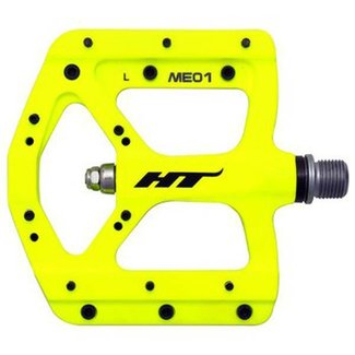 HT EVO-MAG ME01 platform pedals powder coat yellow