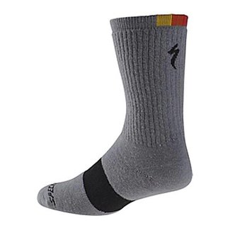 Specialized WINTER WOOL SOCK 74 LTGRY HTHR L/XL