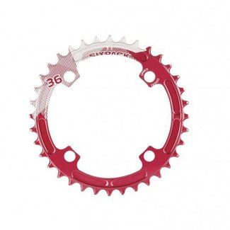 SIXPACK-RACING SIXPACK Kettenblatt K-RING narrow-wide 36z rot