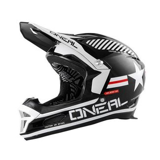 O`NEAL FURY RL AFTERBURNER BLACK M (57 / 58CM)