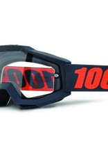 100% 100% Accuri Enduro goggle with dual clear lens gunmetal