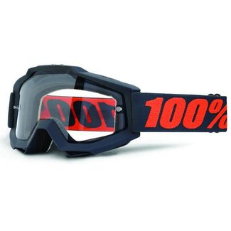100% 100% Accuri Enduro goggle with dual clear lens gunmetal