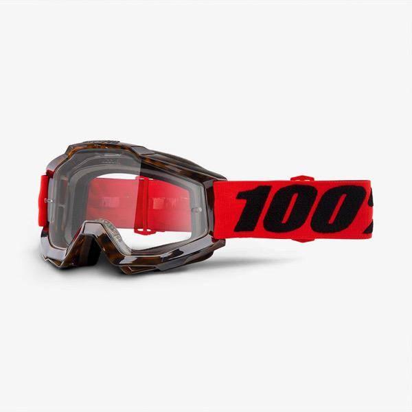100% 100% Accuri goggle anti fogclear lens Vendome