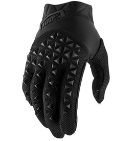 100% 100% AIRMATIC GLOVE Large black charcoal