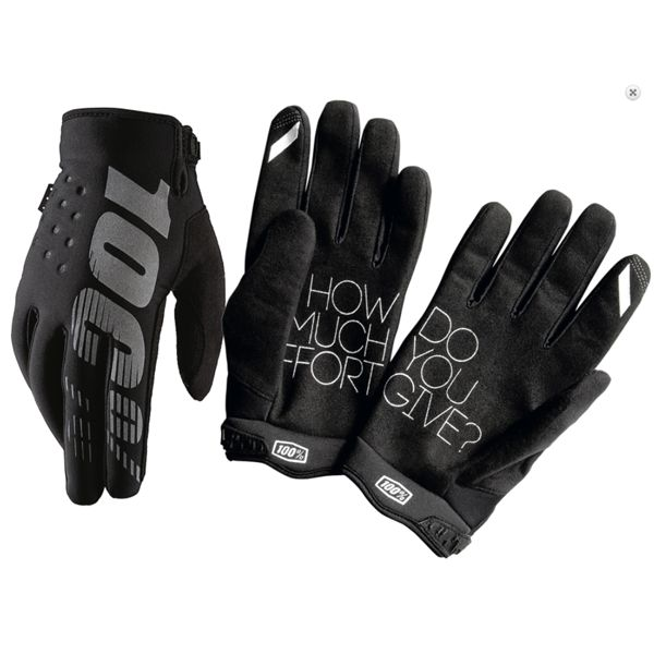 100% 100% BRISKER COLD WEATHER GLOVE Medium black
