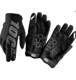 100% 100% BRISKER COLD WEATHER GLOVE Large black