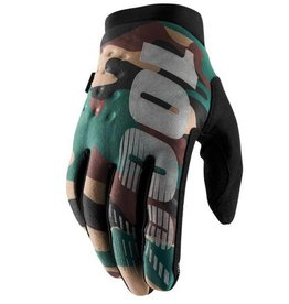 100% 100% BRISKER COLD WEATHER GLOVE Large camo