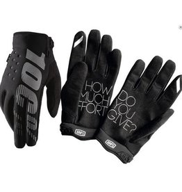 100% 100% BRISKER COLD WEATHER GLOVE Small black