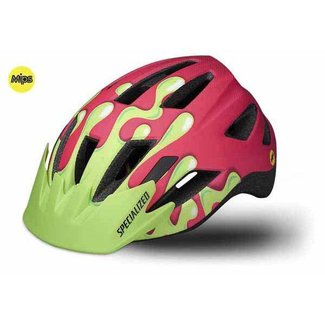 Specialized SHUFFLE LED SB HLMT MIPS CE ACIDPNK SLIME YTH
