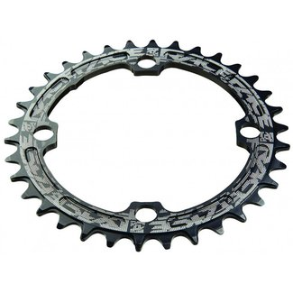Race Face 34er RACE FACE CHAIN SHEET NARROW WIDE 9/10/11-speed 104x34 black - chainring - 11 times 4 holes